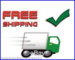 12V Auto Car Truck RV Dash Fan Board Mountable Metal Adjustable Cooler 2-Speed