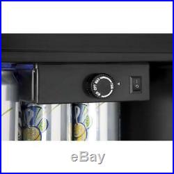 150 Can Locking Beverage Center Cooler Mini Fridge Refrigerator Glass Door