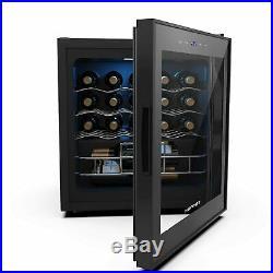 16 Bottles Thermoelectric Wine Cellar Cooler Chiller Refrigerator Freestanding