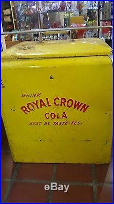 1950's Metal RC Cola Soda Royal Crown Cola Cooler