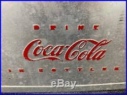 1950's Vintage Coca-Cola Aluminum Metal Cooler Drink Bottles Opener Handles C