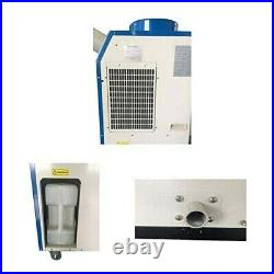 220V Industrial Portable Air Conditioner Commercial Single Tube Cooler 1400W