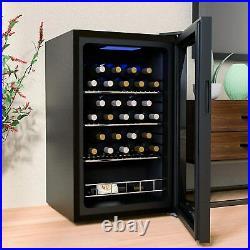 35 Bottles Thermoelectric Wine Cellar Cooler Chiller Refrigerator Freestanding