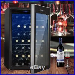 35 Bottles Thermoelectric Wine Cooler Fridge Refrigerator Chiller Cellar Metal