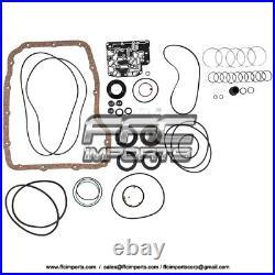 45RFE 545RFE Super Master Rebuild KIT 99-09 2 Pistons 2WD Filters Friction Steel