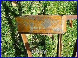 54 1/2 Tall Antique Vtg Metal Water Dispenser Cooler Still Spouted RARE