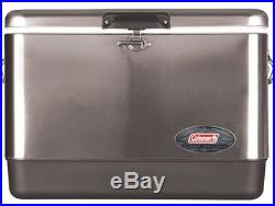 54-Quart Steel-Belted Cooler (stainless Steel)