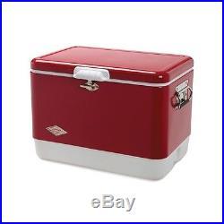 54QT STL Belted Cooler, No 3000003095, Coleman Company