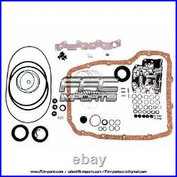 68RFE 66RFE Super Master Rebuild KIT 07-UP WITH Pistons 4WD Filter Clutch Plates