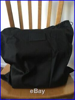 ALEXANDER WANG X MAGNUM Black Leather Gold Mirror Cooler Handbag Purse NEW