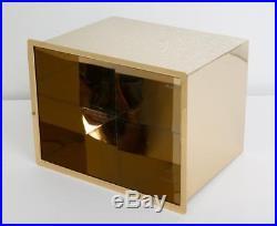 ALEXANDER WANG X MAGNUM Black Leather Gold Mirror Cooler Handbag Purse NEW $995