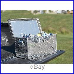 Aluminum Diamond Plate Ice Chest / Cooler