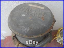 Antique Vintage Dymo Galvanized Metal Water Can Cooler with Lid AND SPOUT 5 GAL