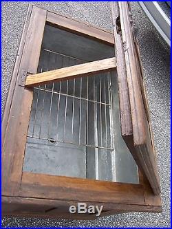 Metal Ice Chest Antique Wooden Ice Box Chest Galvanized