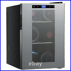 Avanti 6 Bottle Thermoelectric Wine Cooler with Slide-Out Shelves