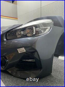 BMW F45 F46 LCI Front M Paket Motorhaube Stoßstange Scheinwerfer Kühlerpaket
