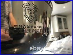 Bollinger 4 Bottle Engraved Champagne Ice Bucket Cooler
