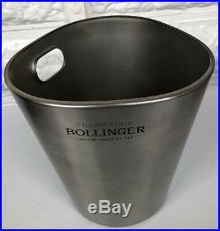 Bollinger Champagne Cooler Bucket Alessi Designed By Jasper Morrison Vgc