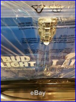 Bud Light NFL Metal Cooler Super Bowl LIII Blue Bottle Opener BNIP RARE