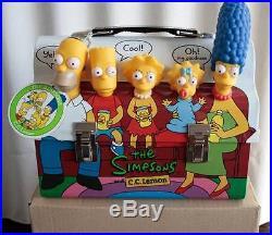 C Lemon Simpsons Japan Rare Cc Set Cooler Lunchbox Metal