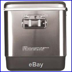 Camping Cooler Camp Coolers Ice Chest Box Stainless Steel Large Best Coleman