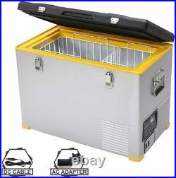 Car Refrigerator 12V Freezer Portable Fridge 47 Quart 45L Travel Cooler Camping