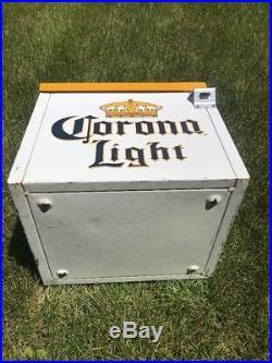 Cerveza Corona Beer Metal Ice Chest Cooler with Bottle Opener