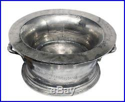 Champagne Wine Vintage Metal Cooler Oval Shape Ice Bath Bucket