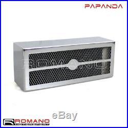 Chrome Reefer Oil Cooler Fan Cooling System For Harley Dyna FXDL FXDB 1993-2017