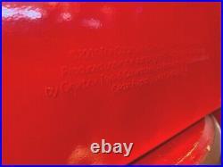 Coca Cola 2001 Gearbox Red Metal Vintage-Style Picnic Cooler Cedar Rapids IA NOS