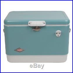 Coleman 54-Quart Steel-Belted Cooler Turquoise