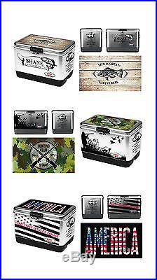 Coleman 54-Quart Steel-Belted Cooler With Custom wrap