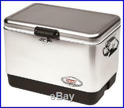 Coleman Steel-Belted Portable Cooler, 54 Quart