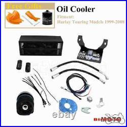 Complete Reefer Oil Cooler Assembly For Harley Street Electra Glide FLHT 1999-08