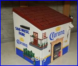 Corona House Drink Beer Ice Chest Metal Cooler by Hector Dairla Opener RARE