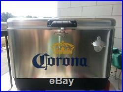 Corona Metal Cooler