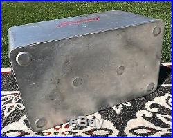 Cronstroms Aluminum Cooler Drink Squirt Soda Bottle Ice Chest Insert Tray Vtg