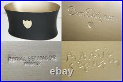 DOM PERIGNON CHAMPAGNE COOLER ICE BUCKET BOTTLE MAGNUM Black x Gold