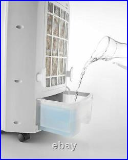 DeLonghi EV250WH 3-Speed Portable Evaporative Cooler withBuilt-in Ionizer & Remote