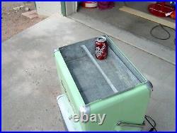 Dr Pepper Vintage 1950's All Metal Picnic A1 Cooler Classic