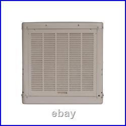 Evaporative Cooler 4900-CFM Ducted Impact Resistant Galvanized Steel Cream