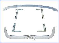 Fiat 124 Spider Umbausatz Stoßstange Vorne + Hinten + Halter Us Version Auf Eu