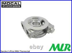 Ford Focus Mk1 2.0 St St170 Rs Mocal S/s Braided Hose Engine Oil Cooler Kit Zqk