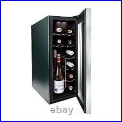 GRADE A1 Husky HN6 Husky Reflections Slim Line Wine Cooler 77421018/1/HN6
