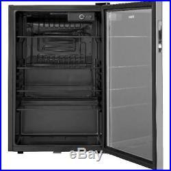 Haier 150 Can Locking Beverage Center Cooler Mini Fridge Refrigerator Glass Door