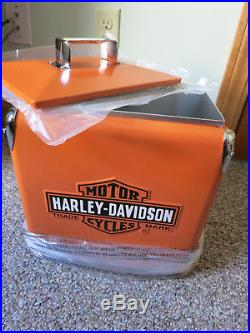 Harley-Davidson Retro Metal Cooler, 96980-06