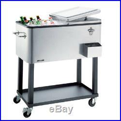 Heller 80L Alfresco Cooler Cart ACC80