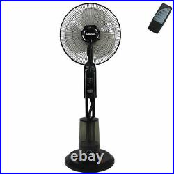 Heller HMIST40R 40cm Misting Fan Humidifier/Tilt/Oscillating/Air Cooler/Cooling
