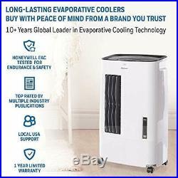 Honeywell CSO71AE 15 Pt. Indoor Portable Evaporative Air Cooler White New