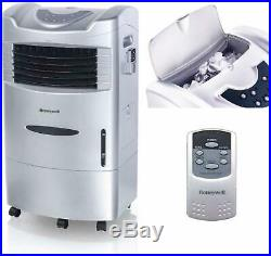 Honeywell Indoor Portable Evaporative Cooler with Fan Humidifier 470 CFM Remote